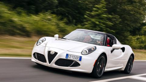 Prueba: Alfa Romeo 4C Spider