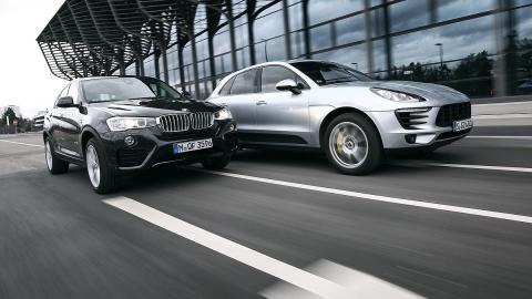 Cara a cara: Porsche Macan S vs. BMW X4 xDrive35i