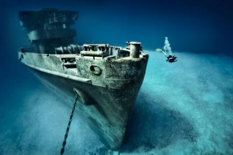 Naufragio USS Kittiwake