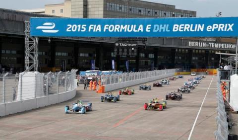 Salida Fórmula E Berlín