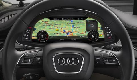 Mapas tridimensionales de Audi