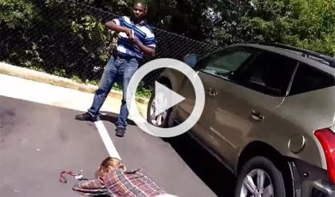 Este ladrón de coches eligió mal a su víctima