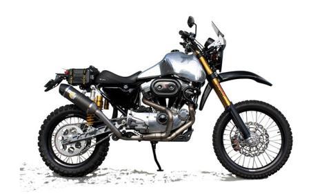 Harley-Davidson se pasa al trail... ¿o es una preparación?