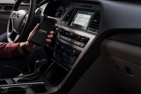 Hyundai Sonata con Android Auto