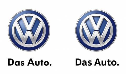 Así es el nuevo logo de VW