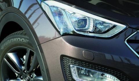 Cazado sin camuflaje el Hyundai Santa Fe 2016