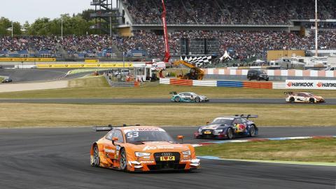 DTM 2015, Lausitzring: Doblete de Green, Molina en el podio