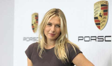 Maria Sharapova ficha por Porsche