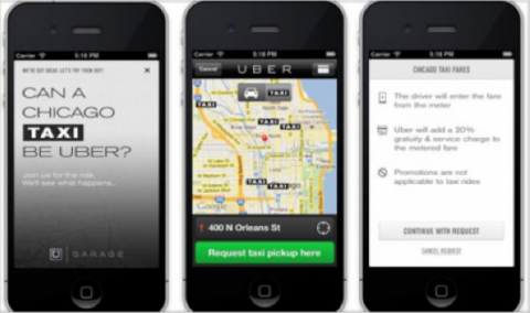 Uber sigue prohibido en España