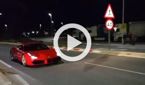 Cazada espectacular: el Ferrari 488 GTB se pasea por España