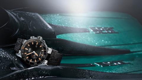 Reloj Oris Carlos Coste diseñado para el buceo en apnea