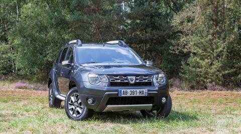 Dacia Duster delantera
