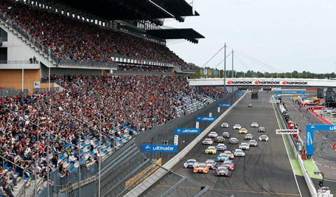DTM, Lausitzring 2015, salida