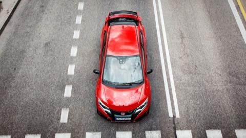 Honda Civic type r techo