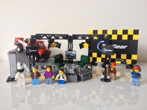 Top Gear UK lego