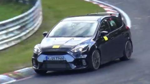 Ford Focus RS 2015: ¡a por la conquista de Nürburgring!