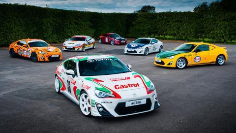 Espectacular colección de Toyota en el Festival de Goodwood
