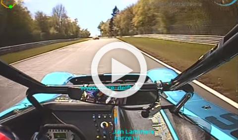 El coche que ha batido el récord Nürburgring con hidrógeno