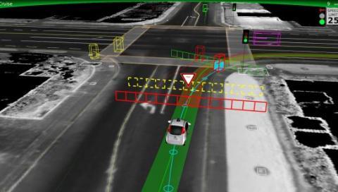 Accidente con un coche autónomo de Google