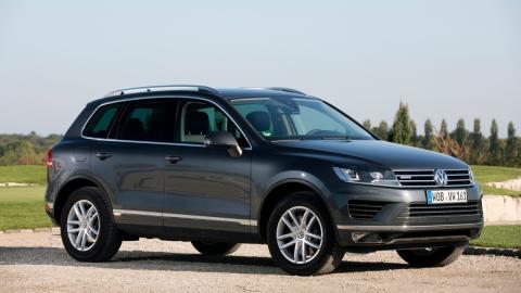 VW Tourareg tres cuartos