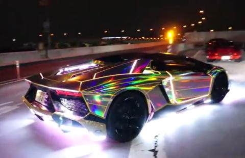 Vídeo: el Lamborghini más 'cantoso' del mundo