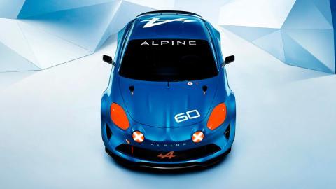 Alpine Celebration Concept Le Mans
