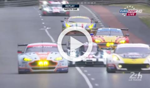 Los cinco accidentes más espectaculares de Le Mans