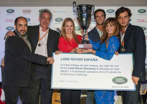 Ganadores de Land Rover Discovery Challenge 2015
