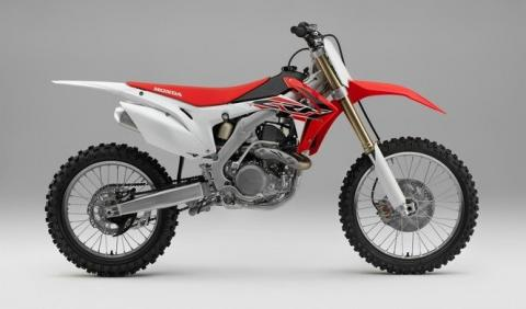 Gama Honda de motocross 2016, cambios discretos
