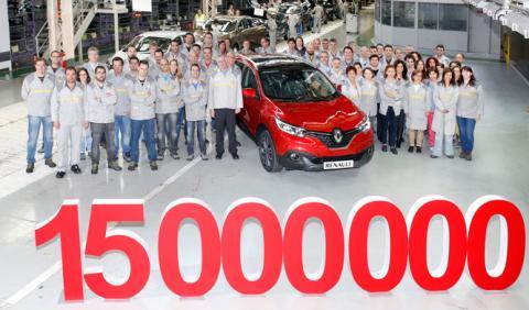 El Renault 15 millones fabricado en España es un...