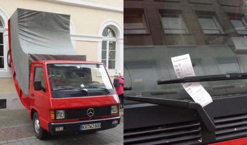La multa de tráfico más extraña del mundo (por ahora)