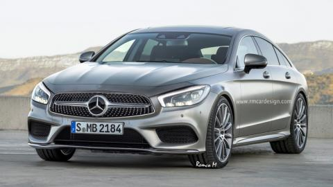 Mercedes-Benz CLS render