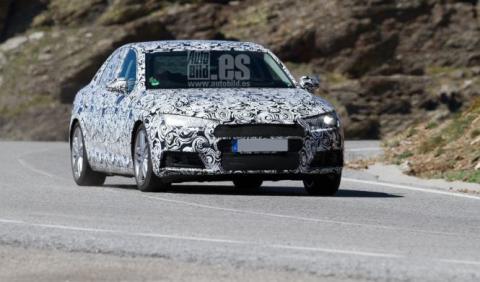 Audi A4 delantera