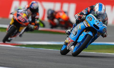 Parrilla de salida Moto3 GP de Holanda 2015
