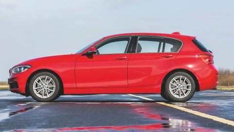 BMW 116d lateral