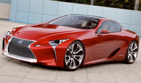 El Lexus SC podría tener versión F: con más de 600 CV...