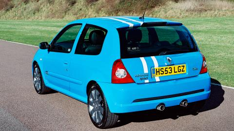 Renault Clio RS trasera