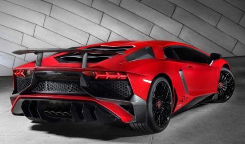 Lamborghini confirma el Aventador SuperVeloce Roadster
