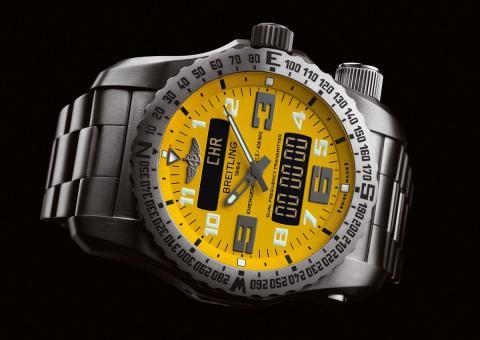 Breitling Emergency amarillo