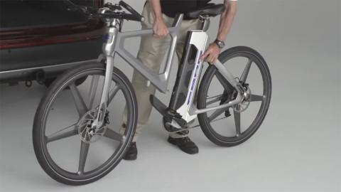 Bicicleta inteligente MoDe:Flex desmontable
