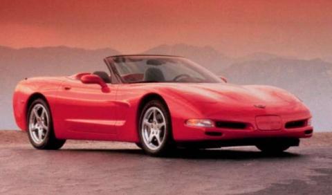 Calcinado un raro Chevrolet Corvette Pace Car de 1998