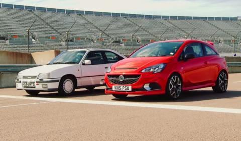 Duelo de altura: Opel Kadett GSi contra Opel Corsa OPC 2015