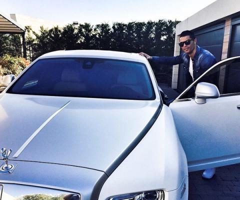 Rolls Royce Cristiano Ronaldo