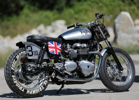 Triumph Tridays 2015. Vintage.