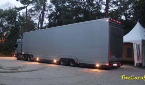 El camión con la carga más valiosa que podrás encontrar