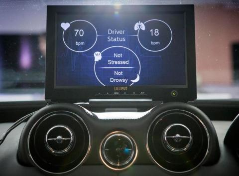 El Land Rover que controla la salud del conductor