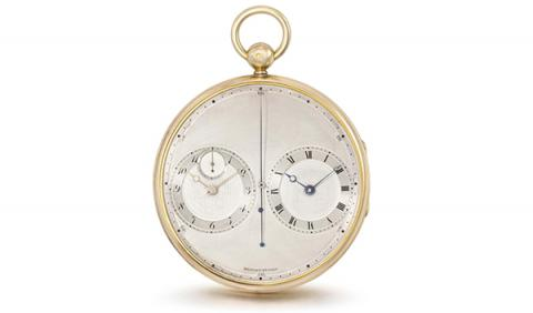 Braguet & Fils pocket watch