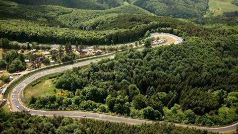 El mítico circuito de Nürburgring.