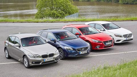 Comparativa: BMW Serie 1 de tres cilindros vs. rivales