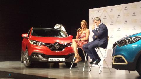 Mireia Belmonte embajadora de Renault España
